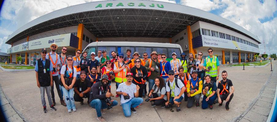 AEROPORTO INTERNACIONAL DE ARACAJU RECEBEU 3ª EDIÇÃO DO SPOTTER DAY INFRAERO